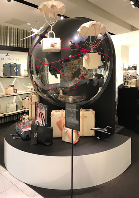 globe trotter popup shop