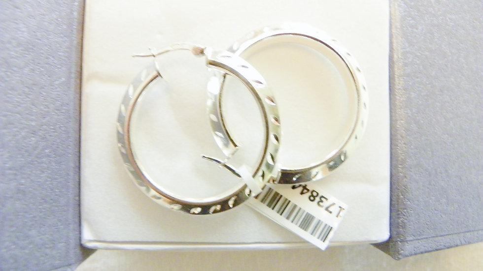 Sterling Silver Nickel Free Hoop Earrings