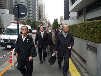 2014年1月21日 東電との直接交渉をおこないました