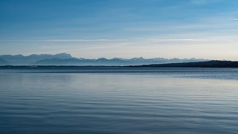 Starnberger See Alpenpanorama