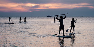 Stand Up Paddling am Starnberger See