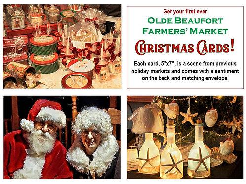 Olde Beaufort Farmers' Market Christmas Cards