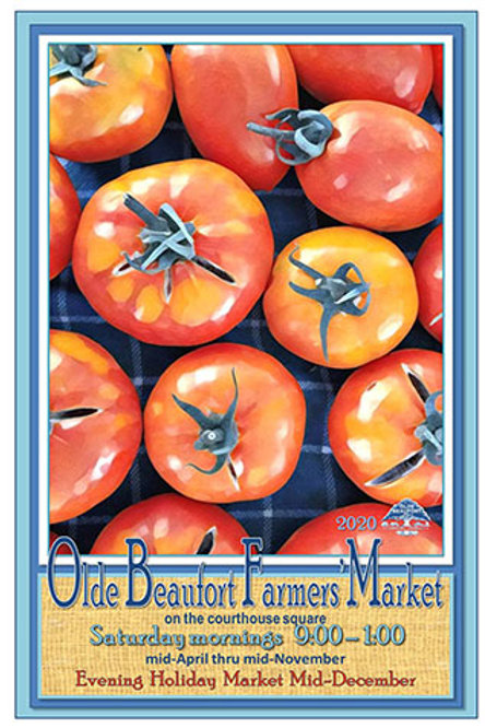 "2020 Annual Collectible Posters                 ""Tic Tac Tomatoes"""