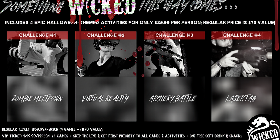 Wicked Halloween 10/31/2020 11a-1p