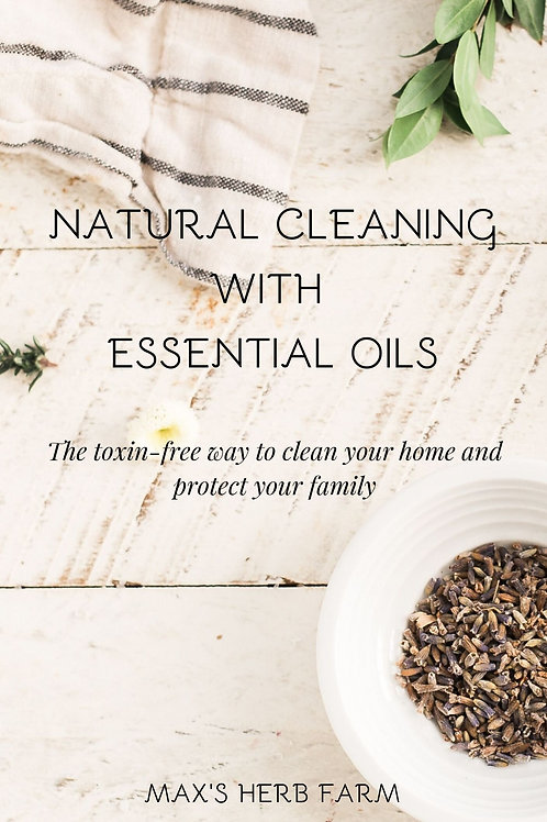 Essential Oil Cleaning Kit