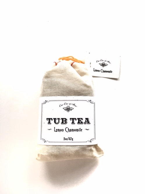 Lemon Chamomile Tub Tea