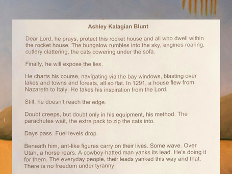 Dear Lord Protect This Rocket House by Ashley Kalagian Blunt