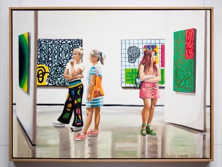 Oslo Art gallery by Anita White