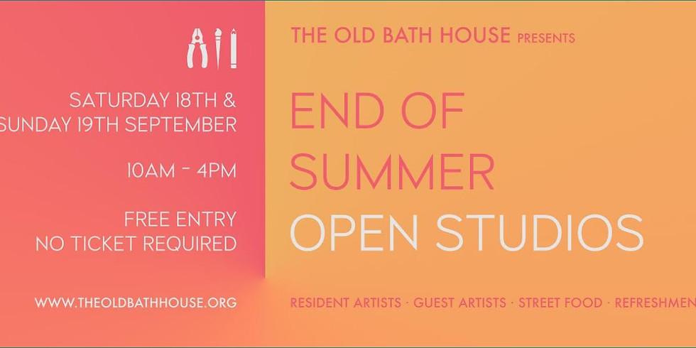 End of Summer Open Studios