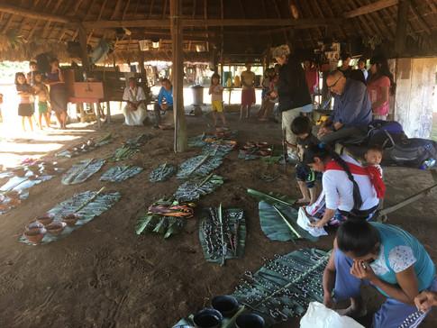 Handicrafts from amazonian women