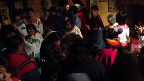 Ceremony in San Clemente - Ecuadorian Andes
