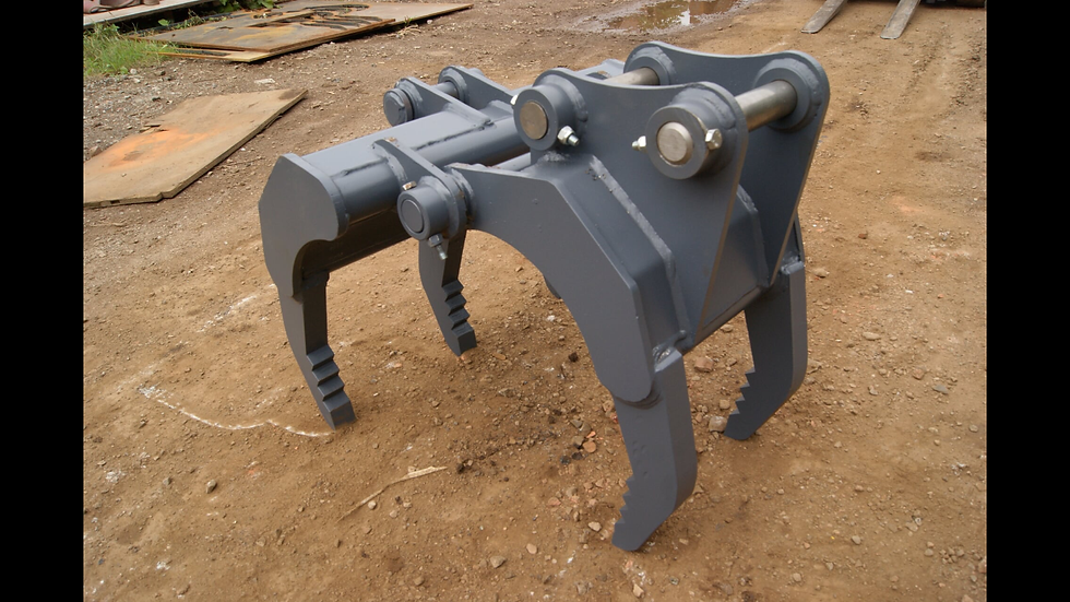 XHD 2 to 4 ton mini digger grapple