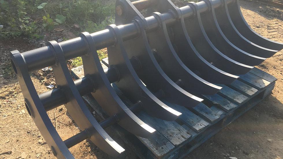 6 - 11 Ton HD Excavator Landscaping Rake