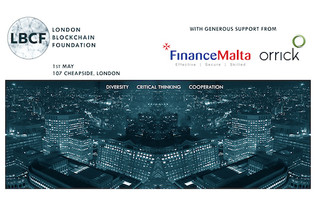 Join a public debate on the regulatory trends concerning blockchain, 1 May in London