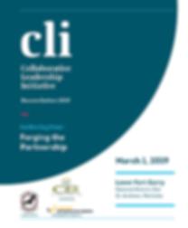 Agenda book for CLI event on March 1, 2019