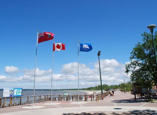 Grand Beach Awarded Prestigious Blue Flag