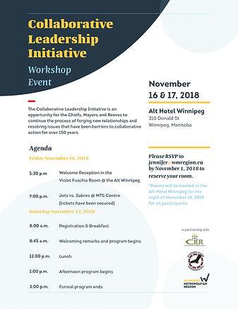 Invite for CLI event on November 16, 2018.