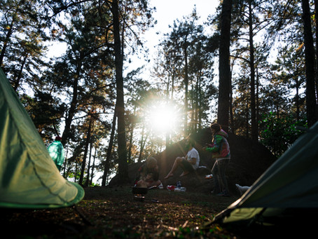 Seven ways to stay cool while camping this summer