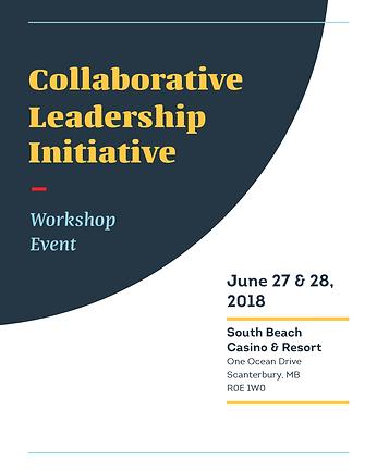 Agenda for June 27, 2018 CLI event at Brokenhead Ojibway Nation