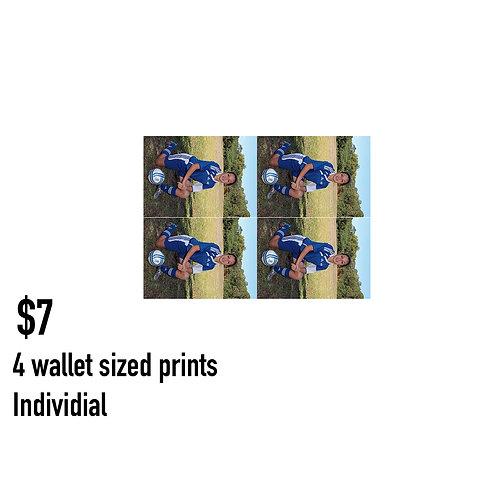 L. 4 wallet size prints - Individual pose