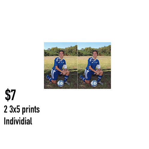 K. 2 3x5 Individual Pose prints