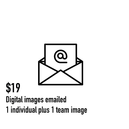 8. Digital images EMAILED (team and individual)