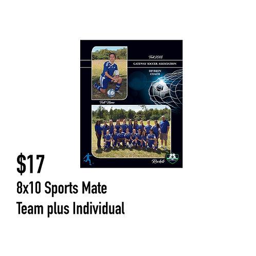 O. Sports Mate 8x10