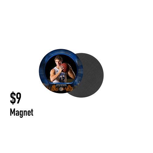 V. Magnet - 3 inch round
