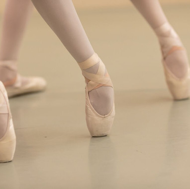 ACBA pointe shoes