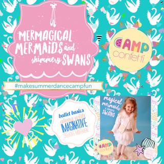 ACBA magical Mermaids and Shimmering Swa