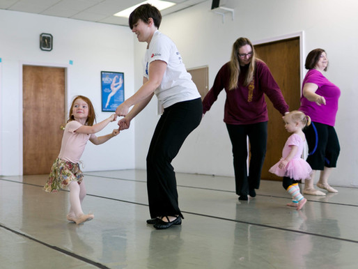 7 Reasons to take Mommy (or Daddy) and Me Dance Classes