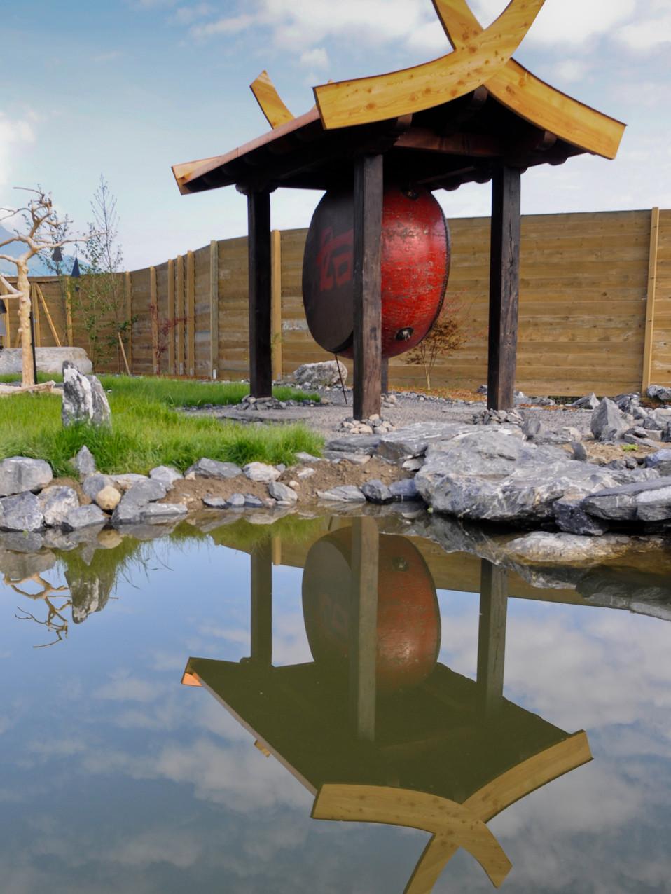 The ancient Beijing drum