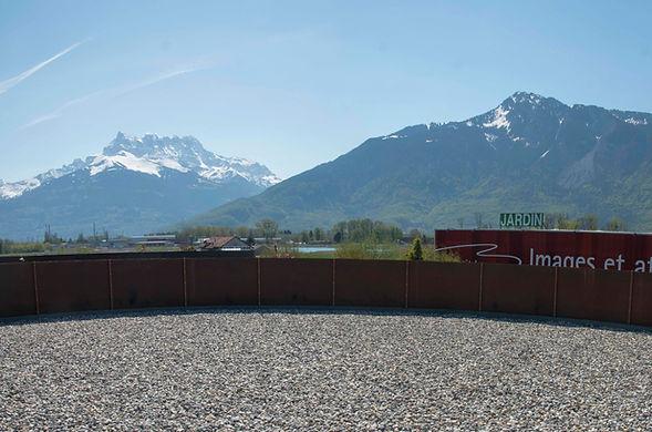 Terrasse Centre de Bien Être Darma, Aigle, Suisse