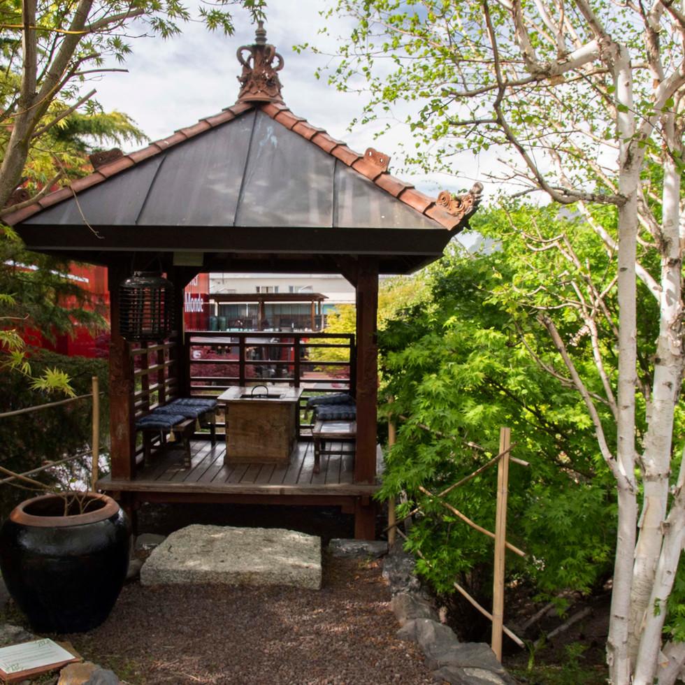 "Pavillon du thé ""Chashitsu"""