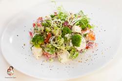 Салат с брокколи перцем белпер кноле