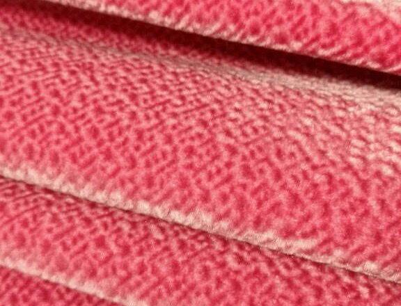 Pink - Velvety Feel - Soft Textured