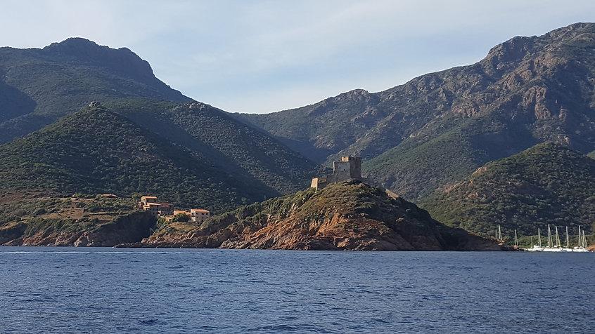 Port Girolata en Corse