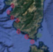 Corse en voilier avec skipper