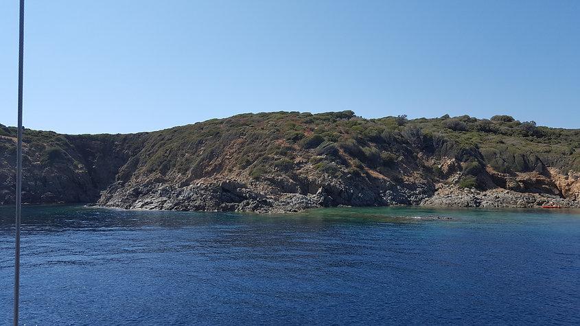 mouillage au calme en Corse