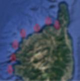 Corse du nord en voilier avec skipper