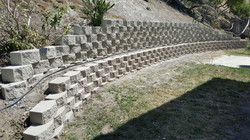 After Retaining Wall Reconstruction