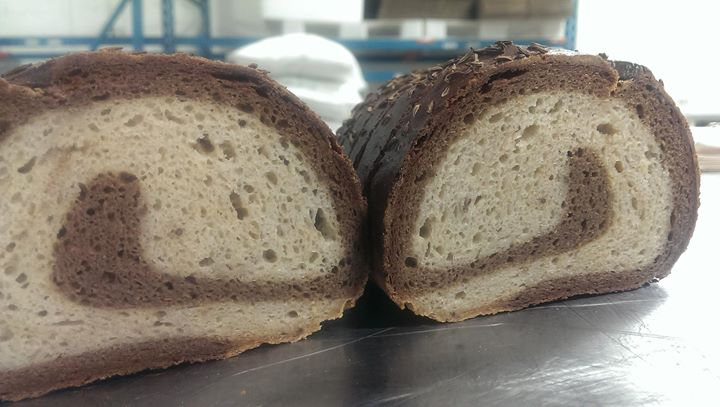 Mock marble rye fresh today!