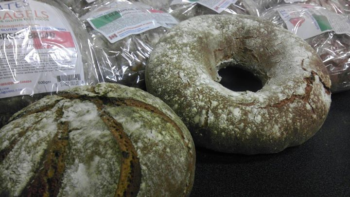 Fresh gluten free bagels and breads baked all day today.  Come in today and see why we were voted To