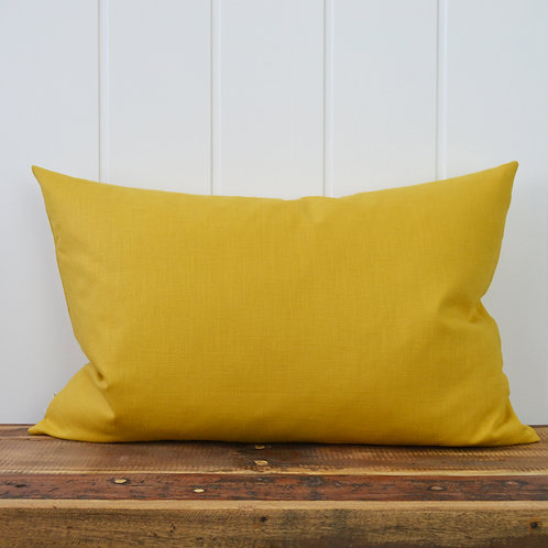10009 - Washed linen - mustard