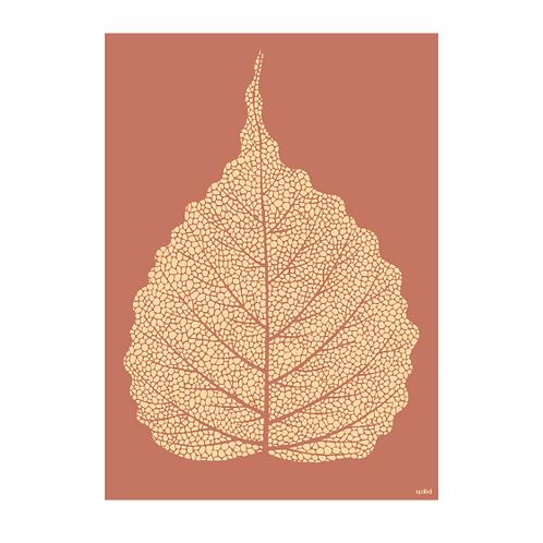 Golden leaf terracotta