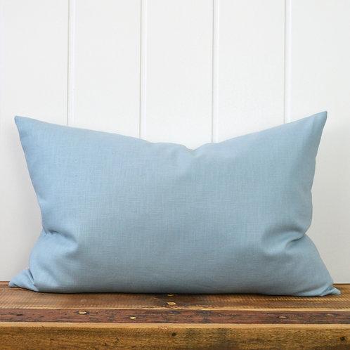 Washed linen - light blue