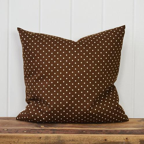 11038 Mini dot - brown/offwhite