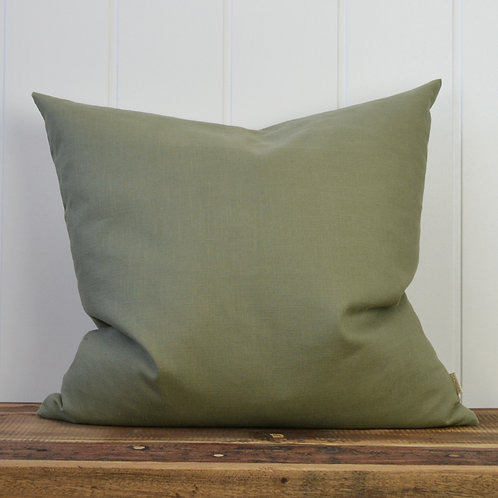 10020 - Washed linen - green
