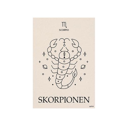 Stjernetegn. Skorpionen.