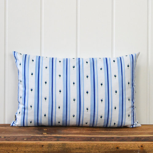 Tapestry look - blue offwhite